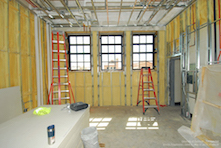 DURING renovation; Photos courtesy of University of Colorado