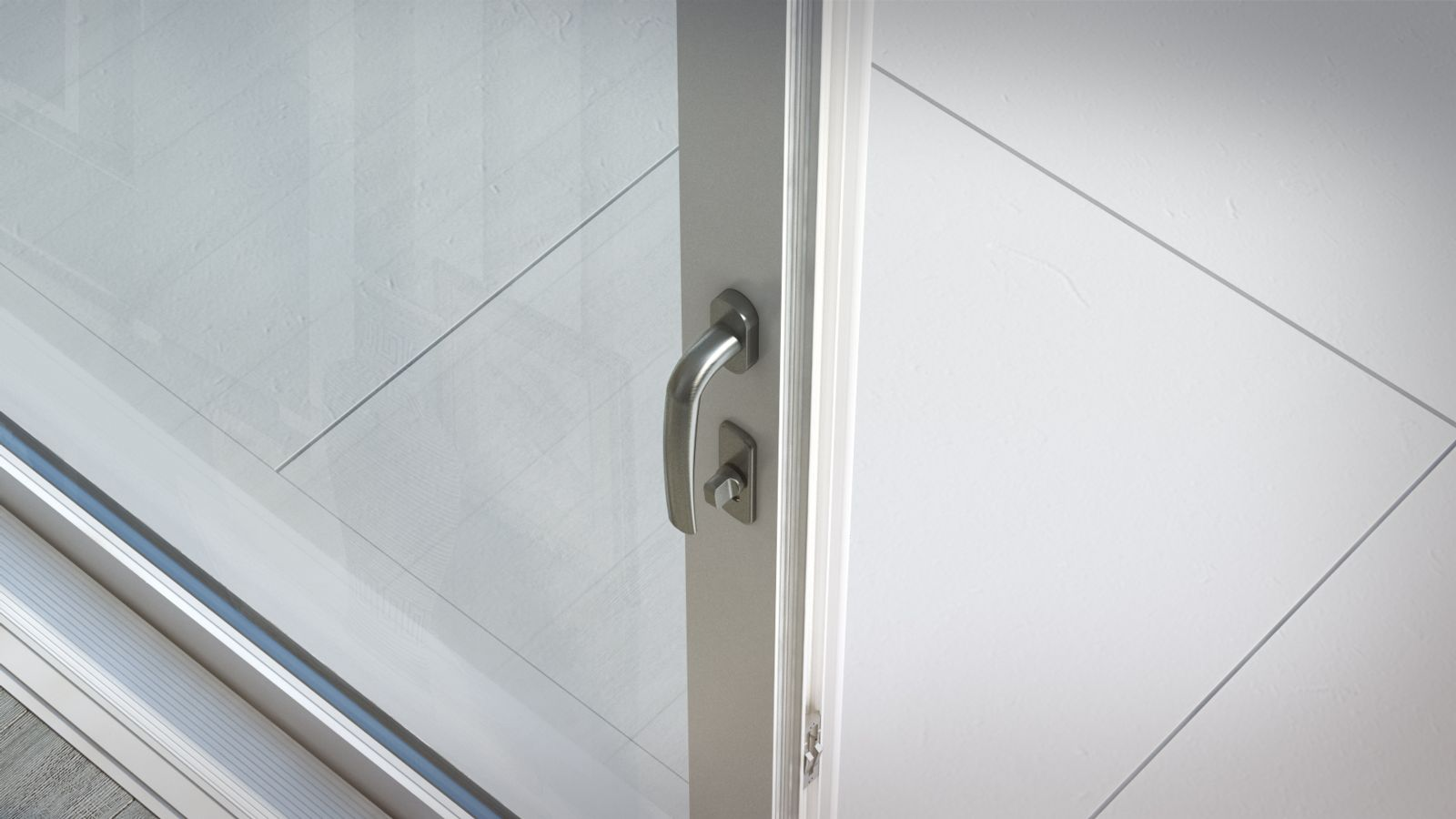 Wausau doors molded of impact resistant fiberglass these for Balcony aesthetic