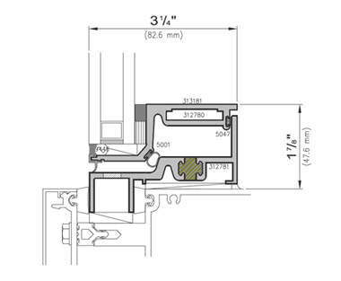 Vents Installation; 3250 Z Series ZERO SIGHTLINE INSERT VENTS