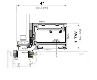 ... 4250 Z Series ZERO SIGHTLINE MULTI LOCK INSERT VENTS
