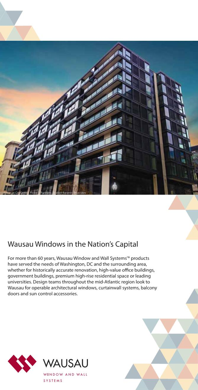 Wausau Windows in the Nation's Capital